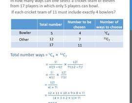 nº 30 pour build excel for permutation and combination for dream 11 fantasy league par abid143lona