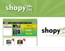 #43 cho Logo Design for Shopy.com bởi Grupof5