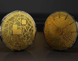 nº 25 pour Design of Cryptocurrency Coin in 3D with different backgrounds and wallpapers par danieljimenez1