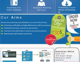 nº 11 pour A4 flyer needed to promote cloud bookeeping & accounting services par ameerhsanan