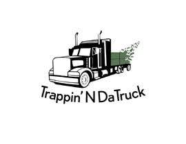#13 for Trappin' N DaTruck—- description is...Semi truck pulling a flatbed trailer with stacks of money on the back... I want the money to look as if it's flying off the trailer by joec184