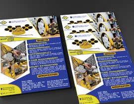 #163 для Design advertising flyer for industrial sander от MrNobody786