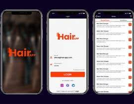 #2 untuk Ui-UX design for Note taking different haircuts oleh anasmunir88