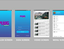#7 for Mock up for Points based Video sharing Mobile App by tahmidulswift