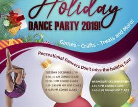 #8 para Holiday Dance Party Flier por sojovanessa