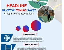 #25 for Roll up with sponsors for Croatian Tennis Association by maangodesign64