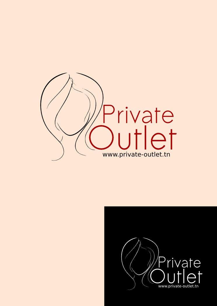 Penyertaan Peraduan #                                        28                                      untuk                                         Logo Design for www.private-outlet.tn