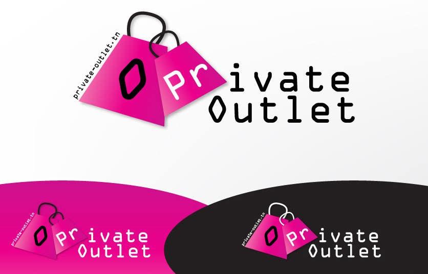 Inscrição nº 25 do Concurso para Logo Design for www.private-outlet.tn
