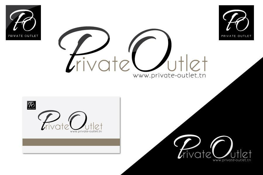 Penyertaan Peraduan #                                        18                                      untuk                                         Logo Design for www.private-outlet.tn