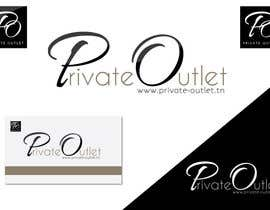 #18 para Logo Design for www.private-outlet.tn por Blissikins