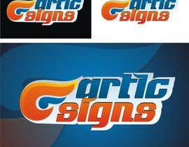 nº 52 pour Logo Design for ARTIC SIGNS par Crussader