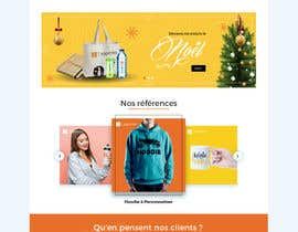 #71 for E-commerce homepage webdesign by GraphicaKing