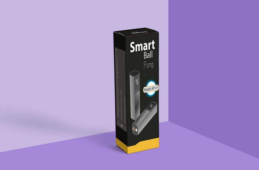 Contest Entry #7 for Design a gift box/package box for a electrical smart ball pump