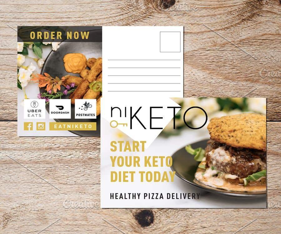 Konkurrenceindlæg #61 for create postcard flyer for new restaurant