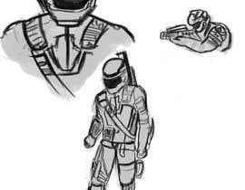 "#5 para AAA Game ""Space Nazi"" Character Design por umaar786"