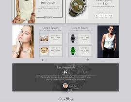 #36 cho Homepage Design for e-commerce platform bởi ronzwebfactory