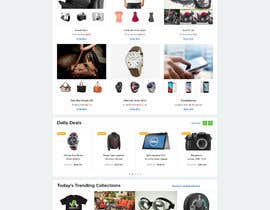#70 for Homepage Design for e-commerce platform by SK813