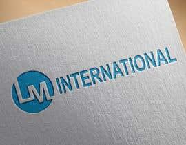 #80 для Logo design for LM International an aerospace defense woman owned company від histhefreelancer