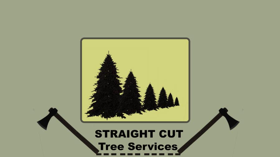 #12 for Logo Design for Straight Cut Tree Service by flynnrider