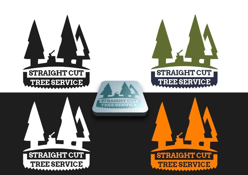 #11 for Logo Design for Straight Cut Tree Service by niccroadniccroad