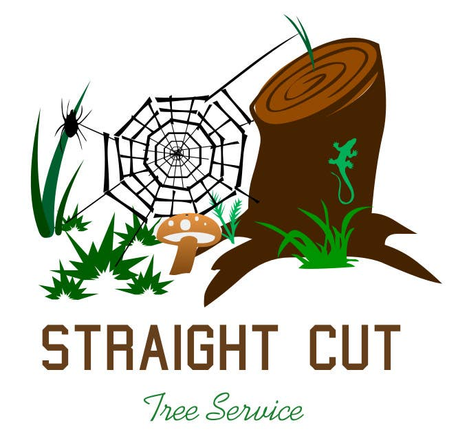#10 for Logo Design for Straight Cut Tree Service by oussamabch