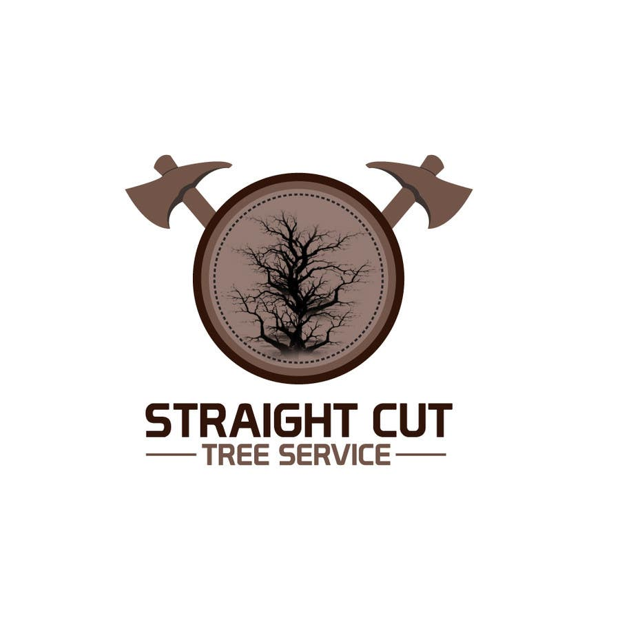 #39 for Logo Design for Straight Cut Tree Service by VaraxenDesigns