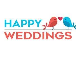 nº 657 pour Happy Weddings.Com Logo to be designed par gianfausto