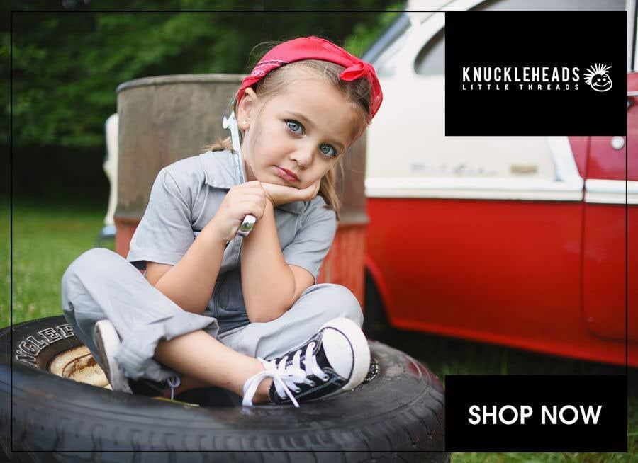 Kilpailutyö #99 kilpailussa Banner for Advertising Knuckleheads Clothing
