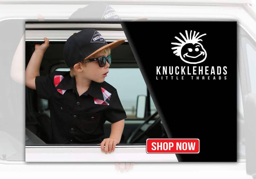 Proposition n°37 du concours Banner for Advertising Knuckleheads Clothing
