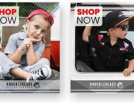 alejandrorosario tarafından Banner for Advertising Knuckleheads Clothing için no 156
