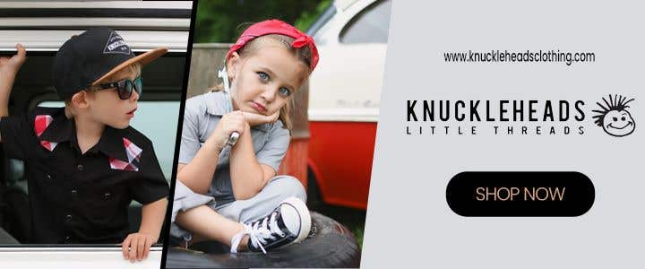 Proposition n°141 du concours Banner for Advertising Knuckleheads Clothing