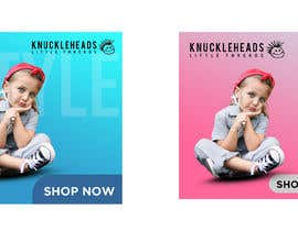 #45 for Banner for Advertising Knuckleheads Clothing af Maruflop