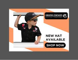#100 for Banner for Advertising Knuckleheads Clothing af Maruflop