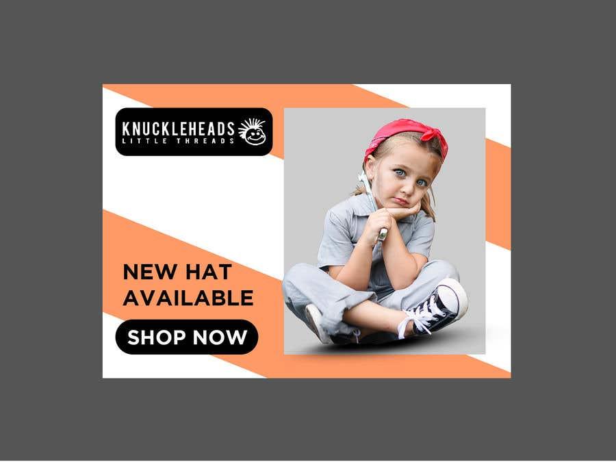 Kilpailutyö #101 kilpailussa Banner for Advertising Knuckleheads Clothing