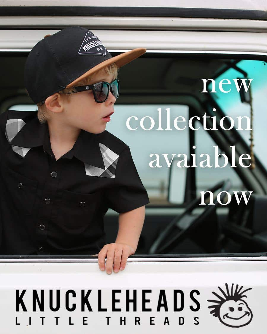 Proposition n°54 du concours Banner for Advertising Knuckleheads Clothing