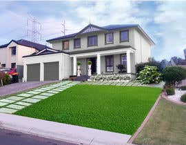 #37 for Update house front design, Graphic by nancyjcc