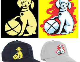 #325 untuk I need a logo of a photo of a dog for embroidered hat oleh iwanbonano