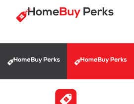 "#13 for Logo designed for real estate software company.  ""HomeBuy Perks"".  It's a rewards platform for homeowners.  So want it to show it's a rewards platform but with an emphasis of homeowners. by Rezaunnobii"