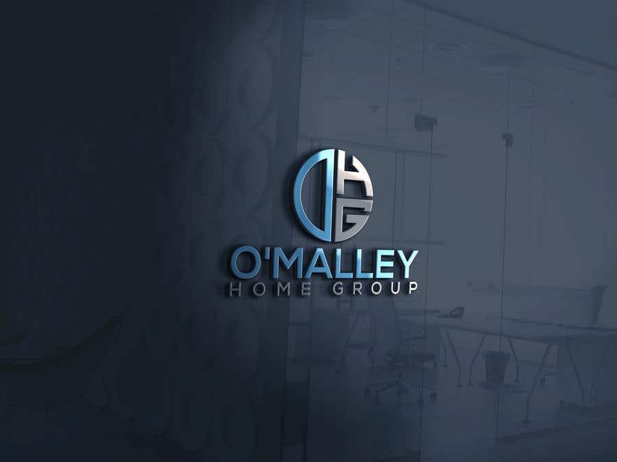 Kilpailutyö #40 kilpailussa OMalley Home Group Logo