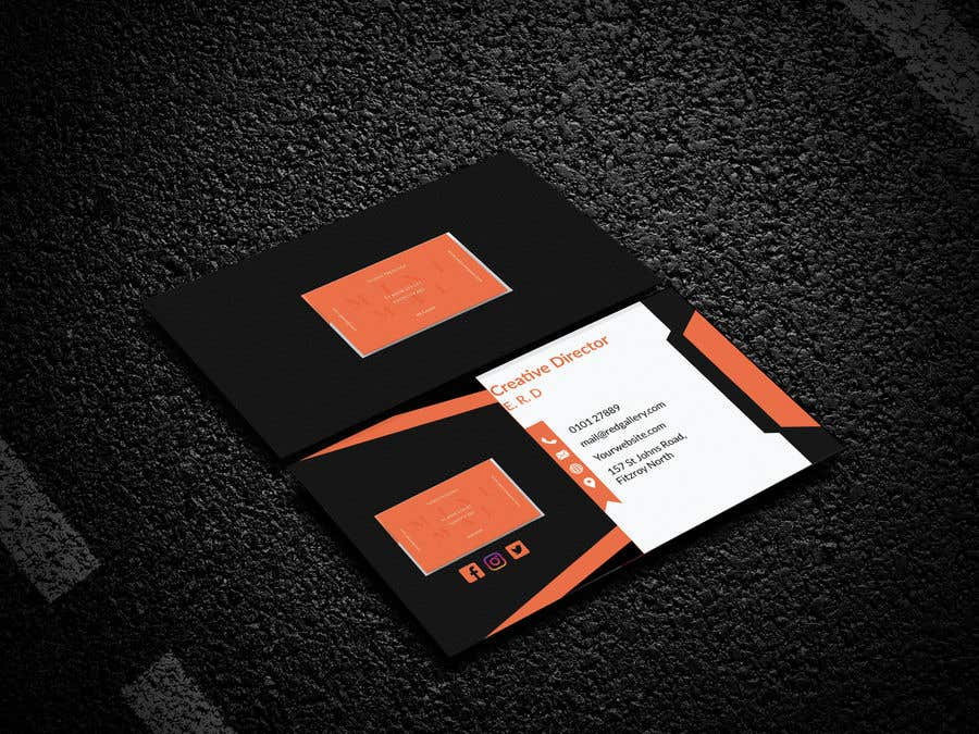 Contest Entry #84 for Print Ready Business Card - GET VERY CREATIVE!