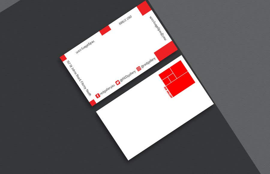 Contest Entry #93 for Print Ready Business Card - GET VERY CREATIVE!