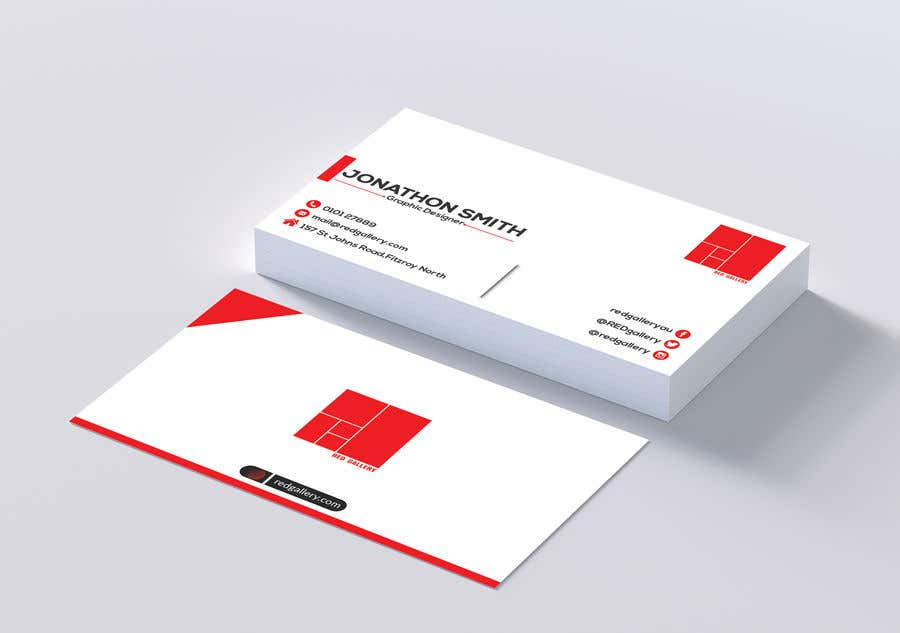 Contest Entry #28 for Print Ready Business Card - GET VERY CREATIVE!