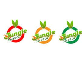 RashidaParvin01 tarafından Logo designed for an upscale juice bar.  Name of the business is Jungle Juice & Co. için no 168