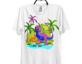 #83 para Dinosaur design for clothes de Shaikasad1