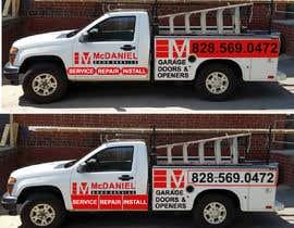 nº 45 pour Vehicle lettering/wrap design par akbar987