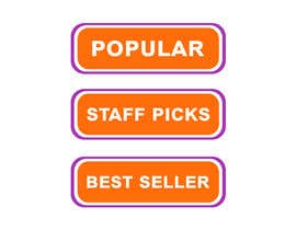 "#38 for ""Best Seller"", ""Staff Picks"" and ""Popular"" Badges for website products af Kalluto"