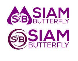 Nro 80 kilpailuun Siam Butterfly Logo käyttäjältä mdmoniruzzamanm2