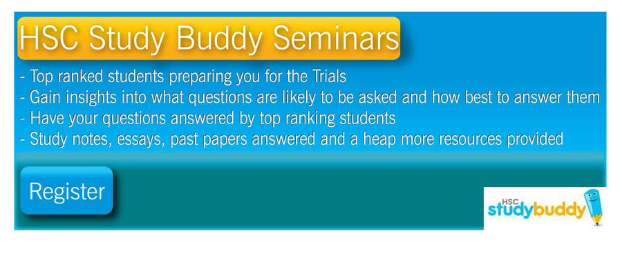 Contest Entry #1 for Banner Ad Design for HSC Study Buddy