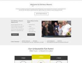 #8 para Design a Website Mockup for shirtlessmovers.com por rammiprg
