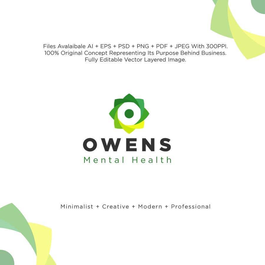 Penyertaan Peraduan #1008 untuk Owens Mental Health